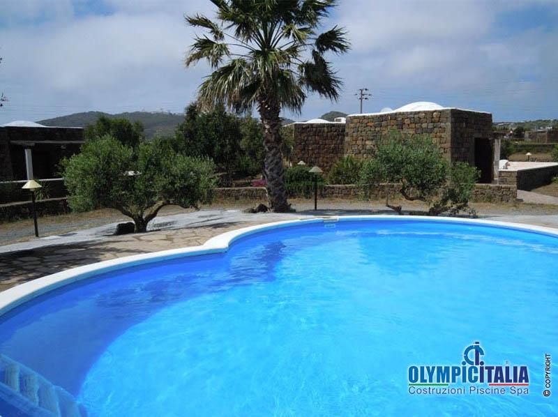 Costruzione Piscina Case Vacanza Pantelleria