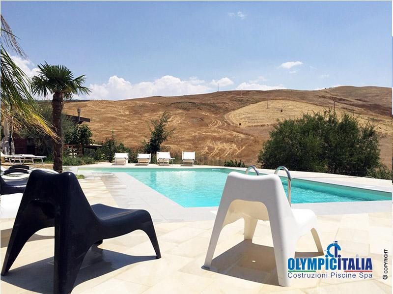 Costruzione piscina agrigento offerte piscine trapani for Offerte piscine