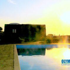Costruzione Piscina Residence Pantelleria