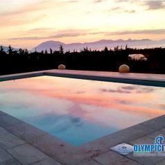 Costruzione piscina a Skimmer Casa Vacanza Trappeto Palermo